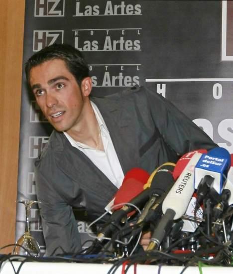 Rueda de Prensa de Alberto Contador
