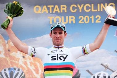 Video Kilometros finales 5ta Etapa del Tour de Catar ganada al Sprint por Mark Cavendish