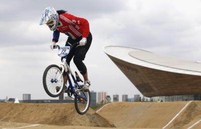 Las lesiones no detienen a Shanaze Reade, tricampeona Mundial de BMX