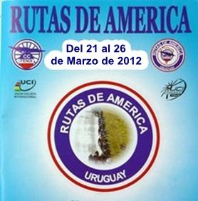 Del 21 al 26 de Febrero se correra  Rutas de America en Uruguay