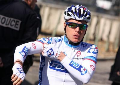 Belga Gianni Meersman (Lotto Belisol) gana al sprint 1ra etapa de la Vuelta al Algarve