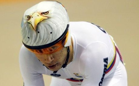 Colombiano Juan Esteban Arango busca medalla en el Omniun en la Copa Mundo de Londres