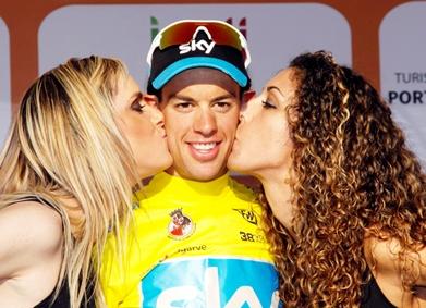 Australiano Richie Porte (Sky) Campeon de la Vuelta a Algarve