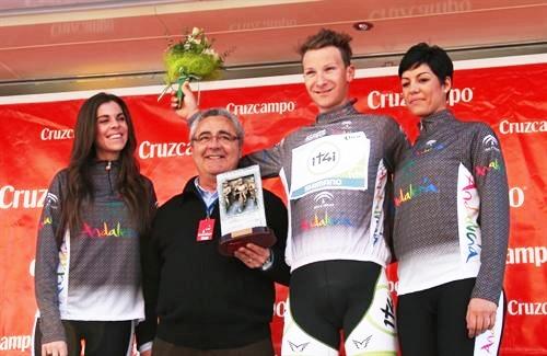 Alemán Patrick Gretsch (Project 1ti4) gana la crono inaugural de la Vuelta a Andalucia y es el 1er lider