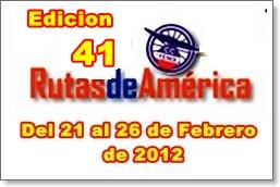 Nomina Oficial de Equipos y Corredores de la 41 Edicion de Rutas de America