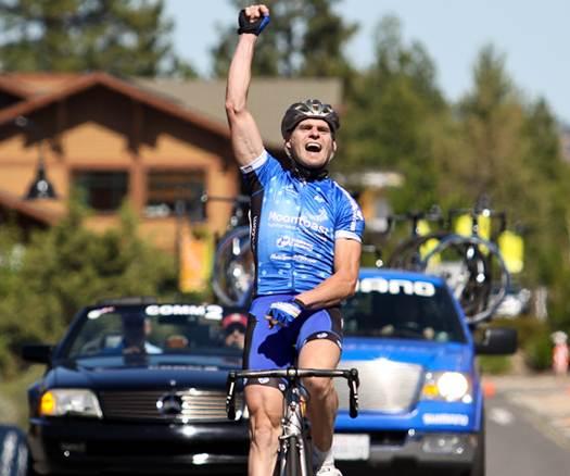 Estadounidense Mike Olheise gana 1ra Etapa del giro uruguayo Rutas de América 2012