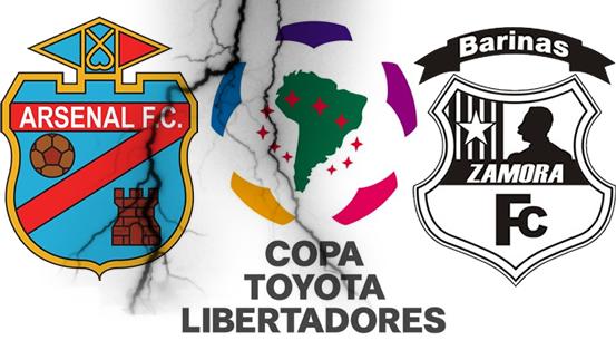 Lin en Vivo para ver Online Arsenal de Sarandi vs. Zamora FC  Copa Libertadores