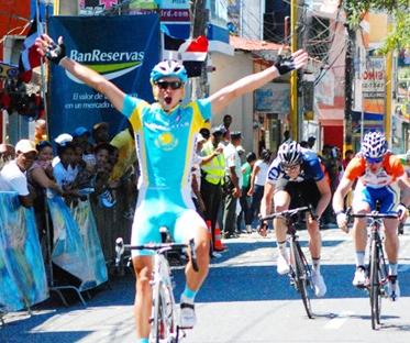 Arman Kamyshev, Sel. Kazahastam gana la 4ta etapa de la Vuelta Independencia
