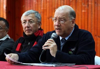 """Comisario Internacional UCI, Héctor Fabio Arcila, designado como Comisario Director de la Vuelta Elite-Sub23 """"El Valle Vale"""