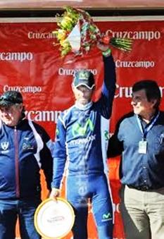Vuelta a Andalucia Daniel Moreno gana la ultima etapa y Valverde se titula Campeon
