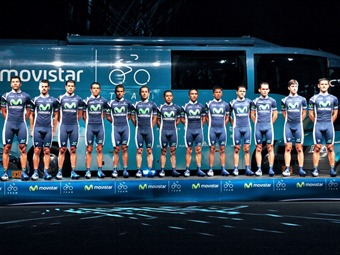 Presento el Movistar Team Continental en 2012