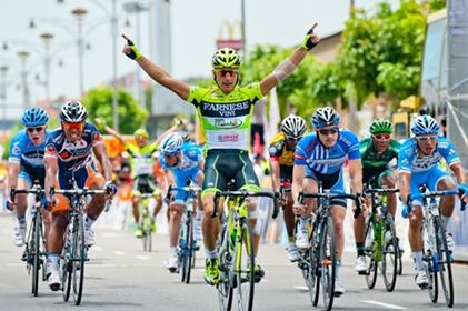 Italiano Andrea Guardinial gana al Sprint la 2da eta del Tour de Langkawi  y Guardini, Zabriskie sigue líder