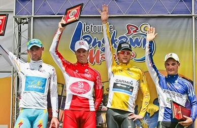 Italiano Guardini repite victoria al esprint en la 3ra etapa de Langkawi y David Zabriskie se mantiene de Lider