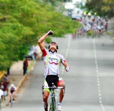Colombiano Jaime Vergara del EPM-UNE gana la ultima Etapa de la Vuelta Independencia y dominicano Ismael Sánchez se titula Campeon