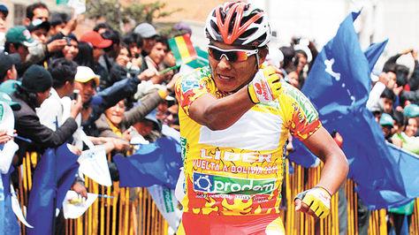 Boliviano, Juan Cotumba, se queda fuera del Campeonato Panamericano de Ciclismo por lesion