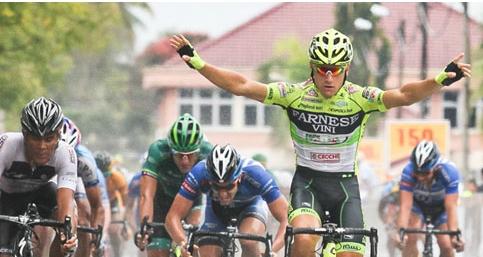 Guardini gana la 8va etapa su 4ta y Serpa se mantiene de Lider