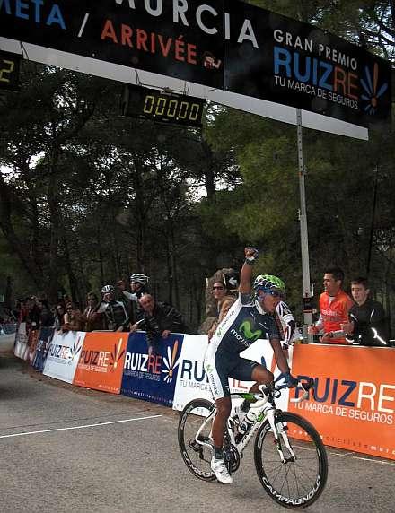 Nairo Quintana, gana la primera etapa y es el primer líder de la Vuelta a Murcia