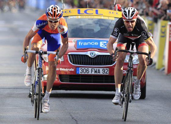 Español Luis León Sánchez, del Rabobank, gana la sexta etapa de la París Niza