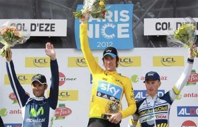 Británico Bradley Wiggins, campeón en la París-Niza