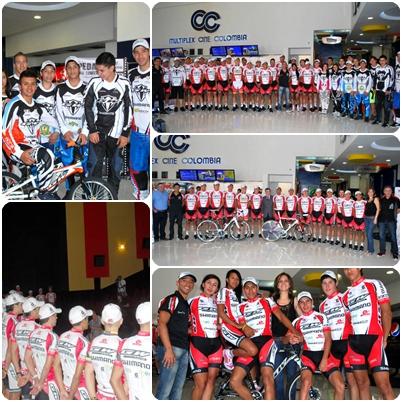 Presentado  Equipo de BMX  GW Shimano