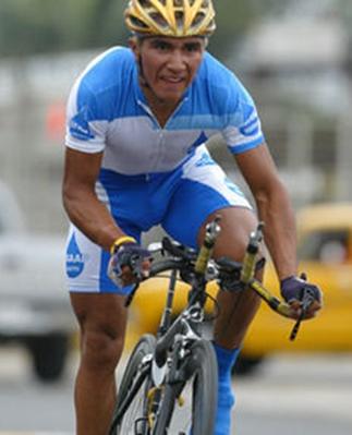 Ciclista Ecuatoriano Byron Guamá clasifica a los Juegos Olímpicos