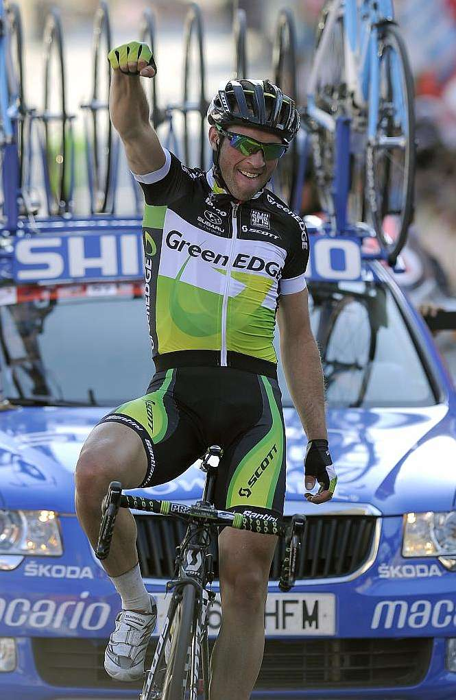 Michael Albasini del Greenedge Cycling Team gana la 1ra Etapa de la Vuelta a Catalunya 2012