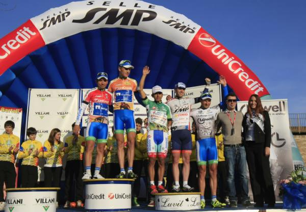 Italiano Cesare Benedetti  gana la 2da Etapa de la Coppi Bartali 2012