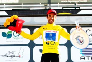 Argentino Jorge Montenegro gana la 1ra Etapa de la Vuelta al Alentejo, en Portugal