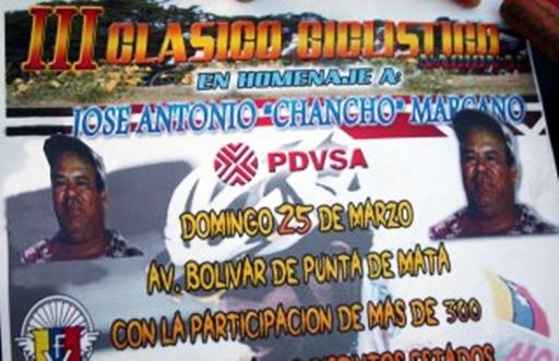 """Todo un exito Clasicio Nacional homenaje a Jose Antonio """"Chancho"""" Marcano"""