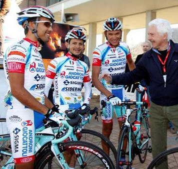 Androni-Venezuela preselecciona diez corredores para el Giro entre ellos 3 Venezolanos