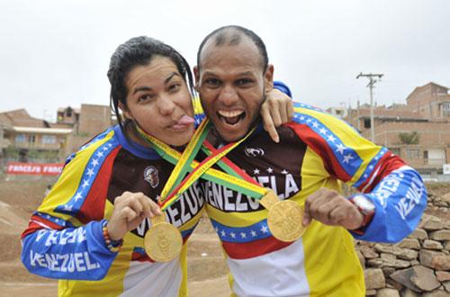Tres bicicrosistas venezolanos participarán en la Copa Supercross en California