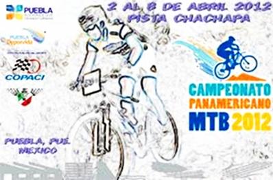 Programa del Panamericano de Mountain Bike Puebla-México 2012