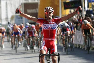 Español Daniel Moreno, del Katusha, gana la XIX edición del Gran Premio Miguel Indurain