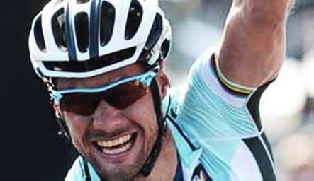 Belga Tom Boonen gana el Tour de Flandes