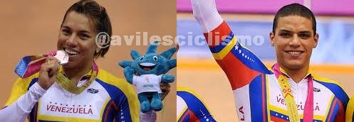 Equipos de Velocidad de Pista Venezolano Masculino y femenino  clasificó a los Juegos Olímpicos de Londres 2012