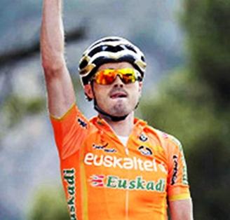 Samuel Sánchez gana la 3ra Etapa de la Vuelta al Pais Vasco