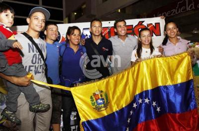Ciclistas Clasificados a Londres ya estan en Venezuela