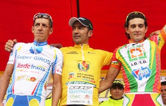 Félix Cárdenas campeón de la vuelta al Tolima 2012