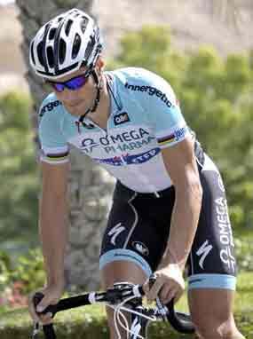 Belga Tom Boonen amaneció hoy liderando el ranking mundial de la (UCI)