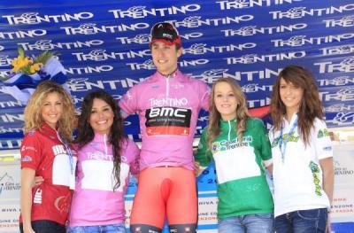 Estadounidense Taylor Phinney  primer líder del Giro del Trentino