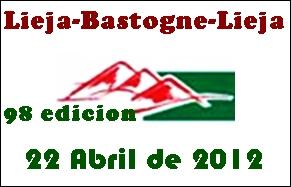 Video Kilometros finales Liege Bastogne Liege 2012