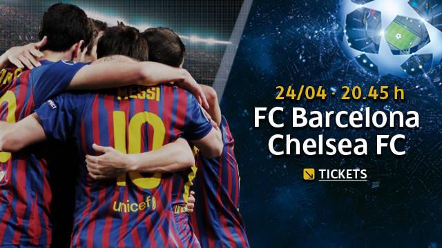 Link en Vivo para ver Online el partido de Futbol  de Liga de Campeones FC Barcelona - Chelsea
