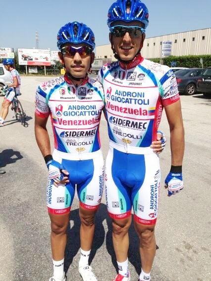 Venezolano Tomas Gil abandona el Giro de Italia