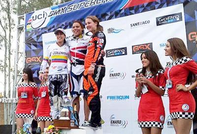 Copa Mundo BMX SX 2013 Argentina: Mariana Pajón y Andrés Jiménez (GW Shimano-PRO) los mejores de Colombia