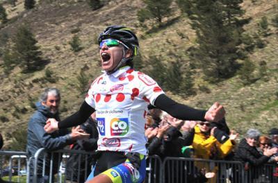 El boyacense Heiner Parra ganó la tercera etapa de la Ronde de L´Isard y Juan Chamorro es el nuevo líder de la carrera