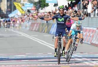 Giro de Italia:  Español Beñat Intxausti gano la XVI Etapa / Nibali sigue de lider