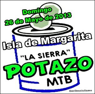 """Este domingo 26 de Mayo,  se correra en Margarita El Potazo MTB """"LA SIERRA"""""""