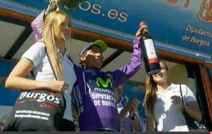 Colombiano Nairo Quintana gana la Vuelta a Burgos