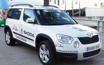 Por tercer año consecutivo, SKODA es el vehículo oficial de la Vuelta Ciclista a España