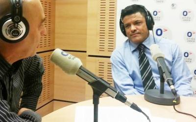Entrevistado Campeon Mundial de Paraciclismo Victor Hugo Garrido en Programa Español